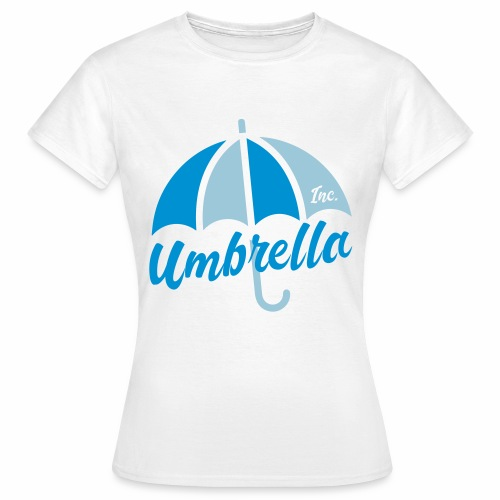 Umbrella Inc. Tipo under logo - Camiseta mujer