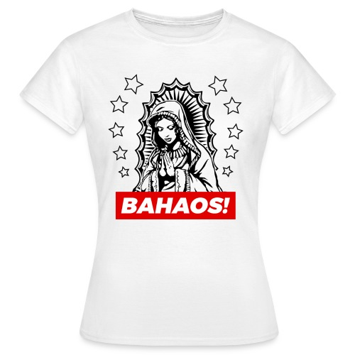 Holy Mary BAHAOS White T-Shirt - Women's T-Shirt