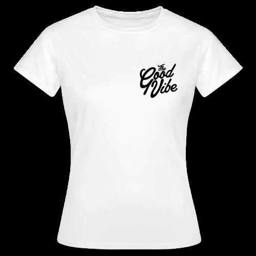 TheGoodVibe black logo edition - Maglietta da donna