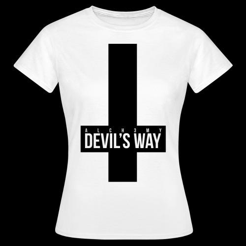 ALCH3MY Devil's Way T shirt - T-shirt Femme