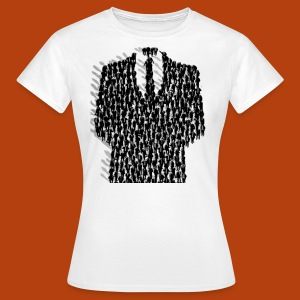 Anonymous Smoking - T-shirt Femme
