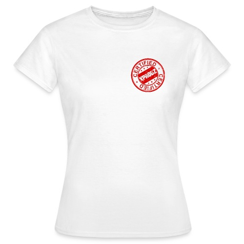 Certified Stamp Xprodz - T-shirt Femme
