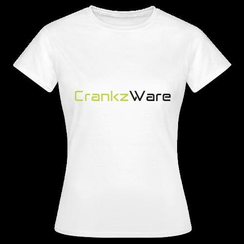 CrankzWare Tech-Font Only 4 Grills - Frauen T-Shirt