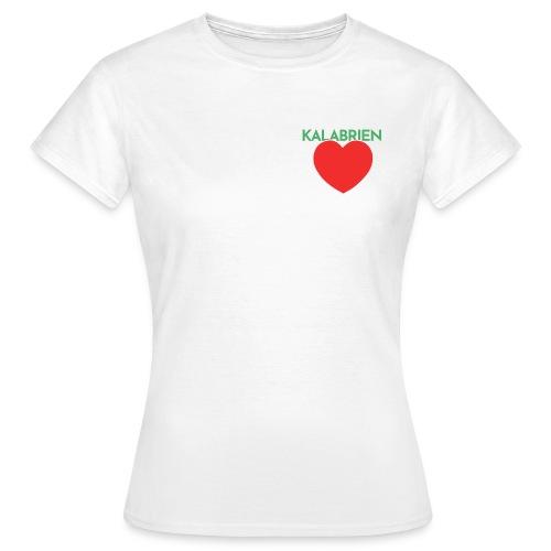 Disprocal TShirt Design Kalabrien Herz - Frauen T-Shirt
