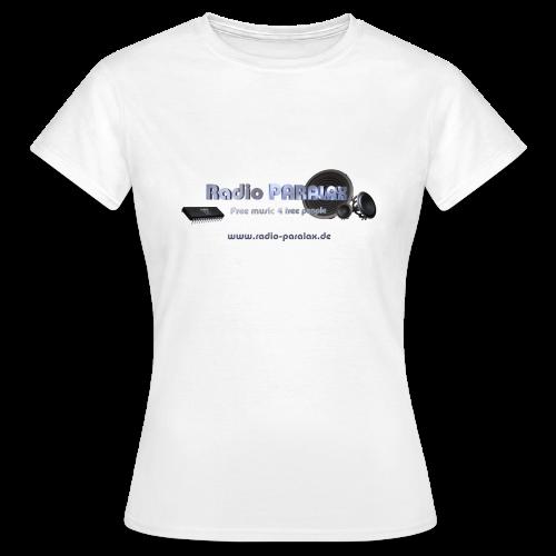 Radio PARALAX Facebook-Logo mit Webadresse - Frauen T-Shirt