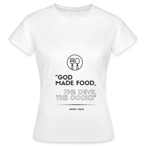 James Joyce Collection: Apron - Women's T-Shirt
