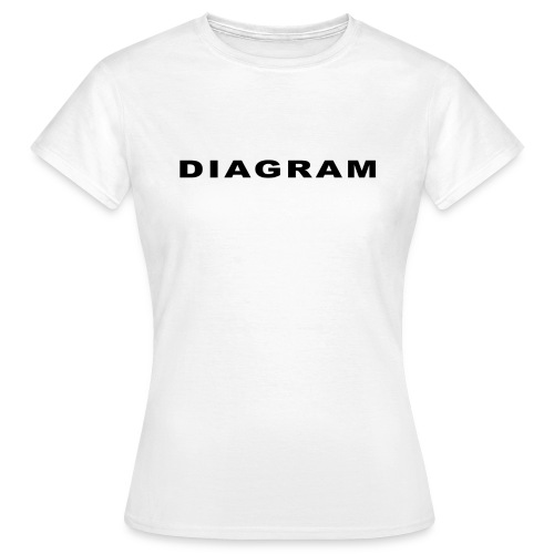 DIAGRAM Word Edition - T-shirt Femme