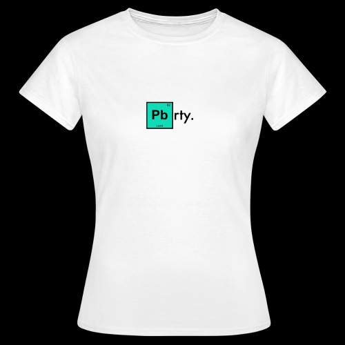 Chemistry Top. - Women's T-Shirt