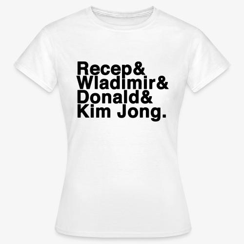 4 - Frauen T-Shirt