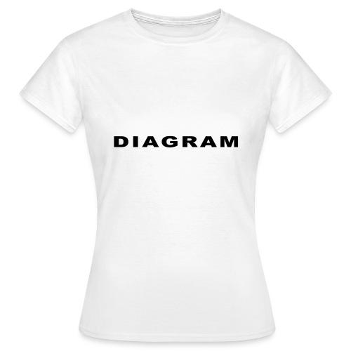 DIAGRAM Word Edition - T-shirt Femme