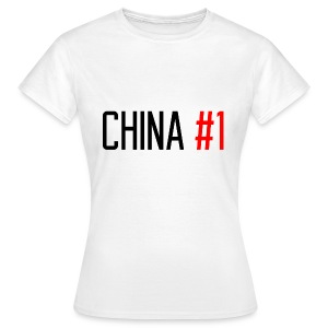 China #1 (Black) - Women's T-Shirt