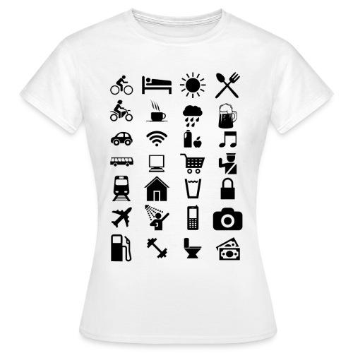 T-shirt de voyage à l'étranger - T-shirt Femme