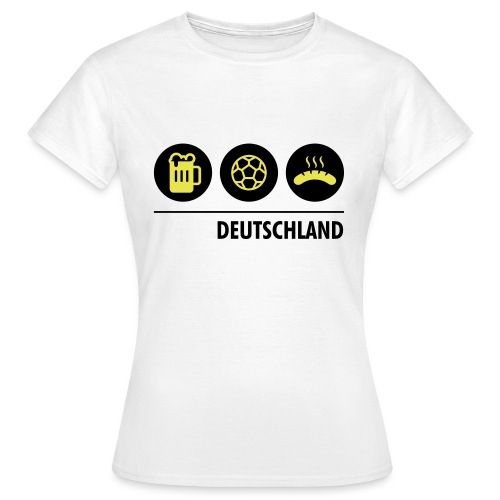 Circles - Germany - Women's T-Shirt
