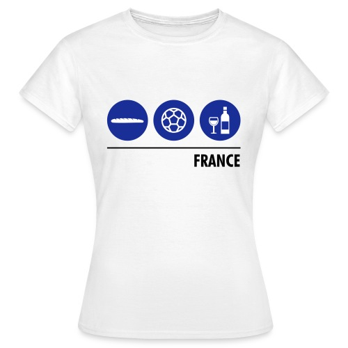 Circles - France - Women's T-Shirt