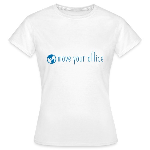 Das offizielle move your office Logo-Shirt - Frauen T-Shirt