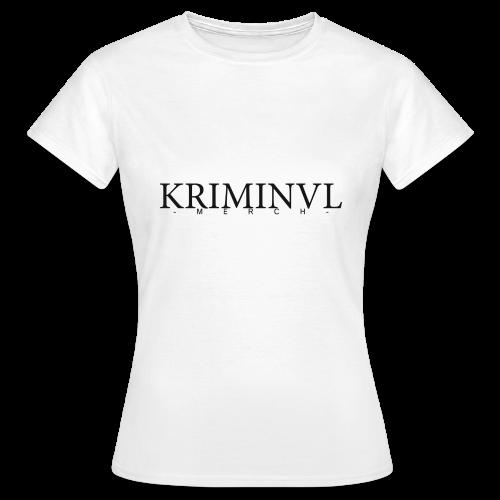 KRIMINVL'MERCH - Frauen T-Shirt