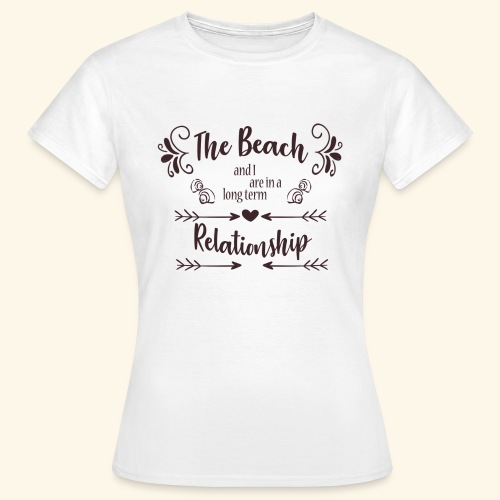 Beach Love - Vrouwen T-shirt