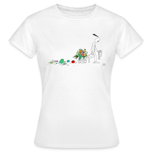 frukt og grønt handleveske - T-skjorte for kvinner