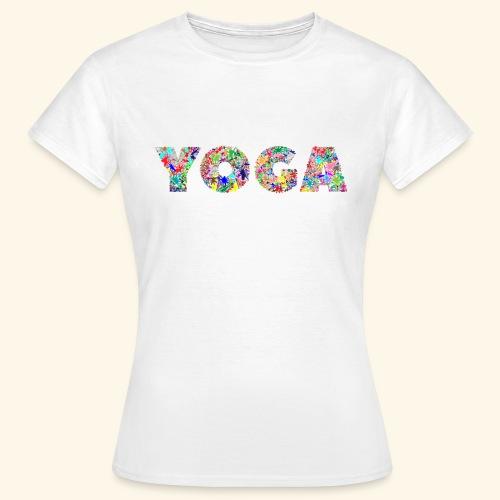 yoga - Frauen T-Shirt
