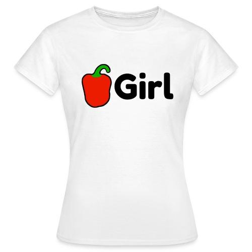 Paprika Girl logo - Vrouwen T-shirt