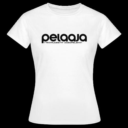 Pelaaja - Rakkaudesta videopeleihin (musta) - Naisten t-paita
