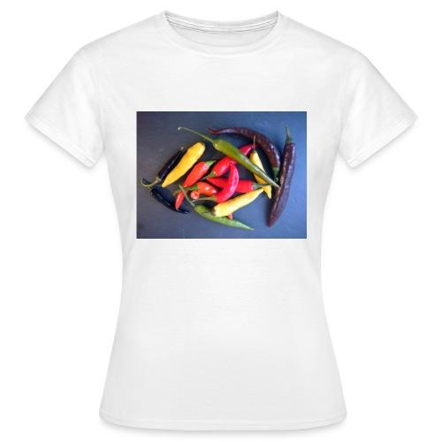Chili bunt - Frauen T-Shirt