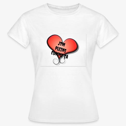 saint valentin coeur amour - T-shirt Femme