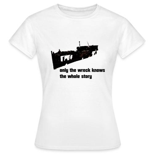 wreck shirt - Frauen T-Shirt
