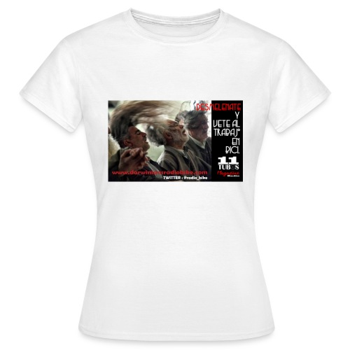 039 desmelénate - Camiseta mujer