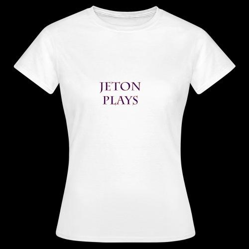 JetonPlays - Vrouwen T-shirt