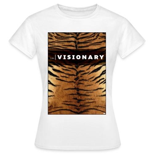 PRTCTANIMAL - Tiger | Im visionary - Women's T-Shirt