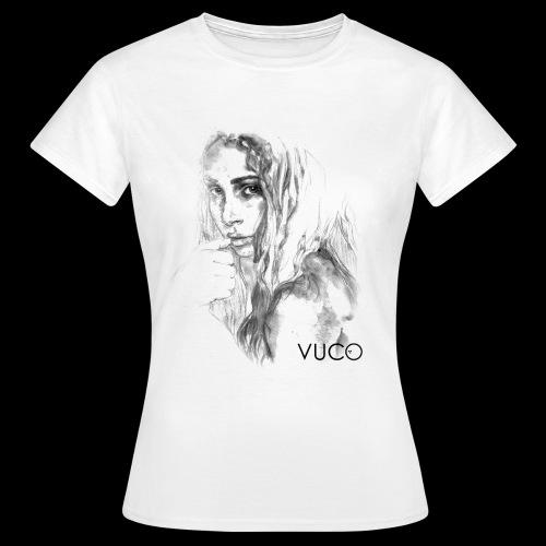 Thoughtful Girl - von VUCO - Frauen T-Shirt