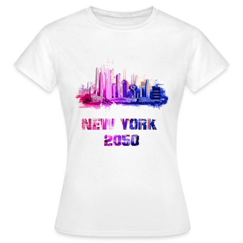 New York 2050 - T-shirt Femme