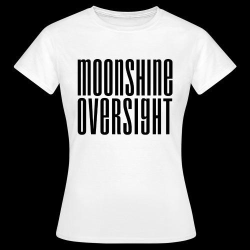 Moonshine Oversight noir - T-shirt Femme