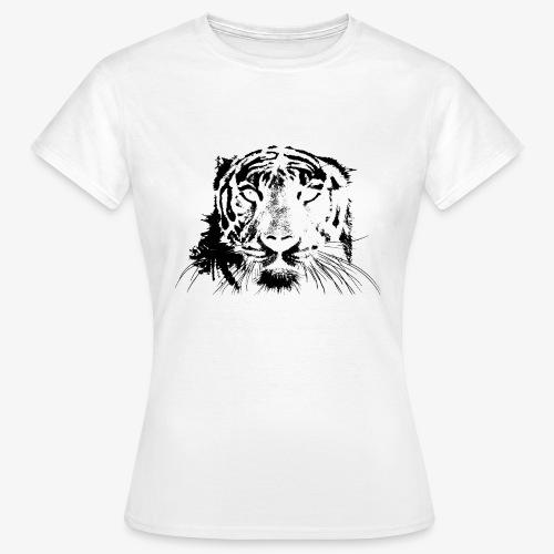 BLACK TIGER - Camiseta mujer
