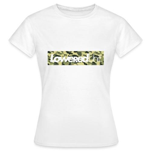 Loweredunit. Camouflage - Frauen T-Shirt