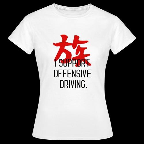 OFFENSIVE DRIVING - T-shirt Femme