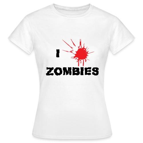 I Zombies - T-shirt Femme
