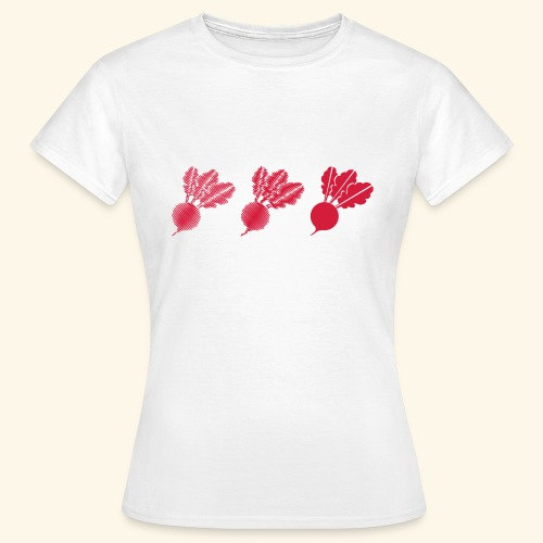 Top rábano - Camiseta mujer