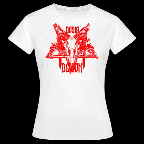 Dosia Demon Baphomet Logo - Frauen T-Shirt