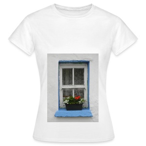 Cashed Cottage Window - Women's T-Shirt