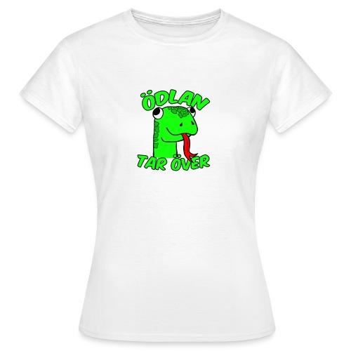 Ödlan Tar Över - T-shirt dam