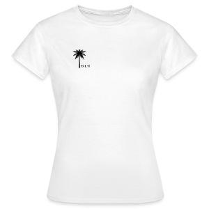 Palm - Black & White - Dame-T-shirt