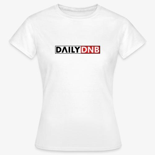 Daily.dnb White - Frauen T-Shirt