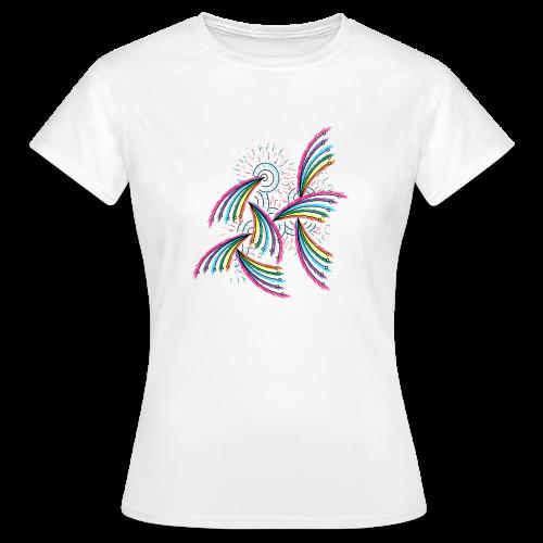 Fuegos de Pluma - Camiseta mujer