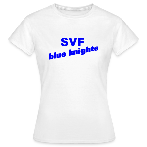 SVF-blue-knights blau - Frauen T-Shirt