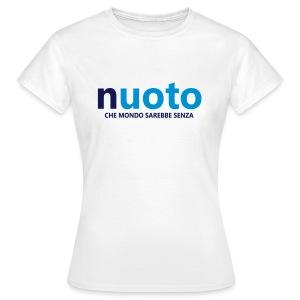 NUOTO - CHE MONDO SAREBBE - Maglietta da donna