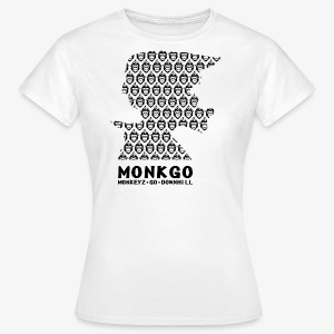 MonkGo Helmet Shirt - Frauen T-Shirt
