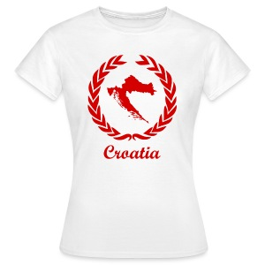 Connect ExYu Croatia Red Edition - Frauen T-Shirt