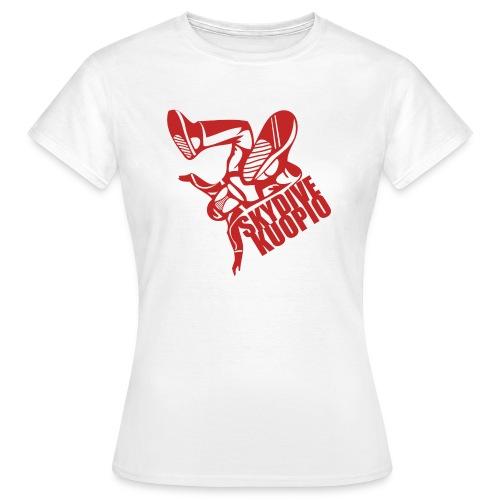 KLU logo red - Naisten t-paita